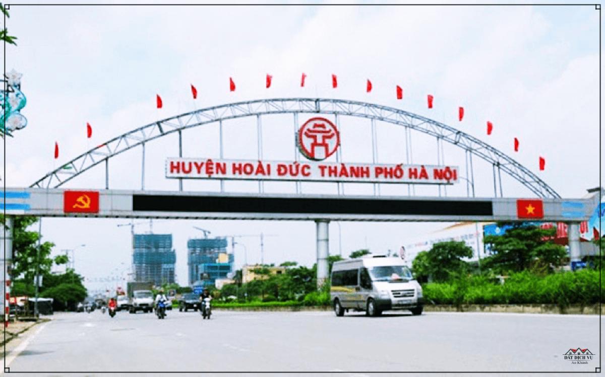 Cắm mốc giới tuyến đường vành đai Sơn Đồng, Hoài Đức