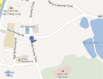 Cắm mốc giới trên thực địa Kho tàng của Cục Cảnh sát giao thông tại ngõ 307 Bùi Xương Trạch, phường Định Công, quận Hoàng Mai, TP Hà Nội