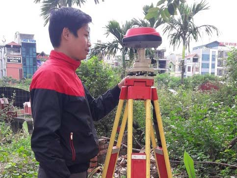 Đo hồ sơ kỹ thuật thửa đất cho nhiều hộ gia đình trên địa bàn thành phố Hà Nội