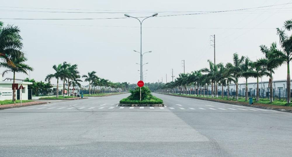Đo đạc cắm mốc làm cơ sở sản xuất tại lô 38G thuộc KCN Quang Minh TT Quang Minh huyện Mê Linh
