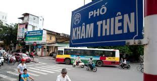 Đo đạc và cắm mốc giới tại 378 Khâm Thiên quận Đống Đa, TP Hà Nội