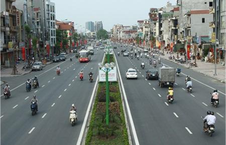 Đo đạc và cắm mốc xác định ranh giới Văn phòng làm việc và showroom trưng bày sản phẩm tại 543 Nguyễn Văn Cừ, quận Long Biên, TP Hà Nội