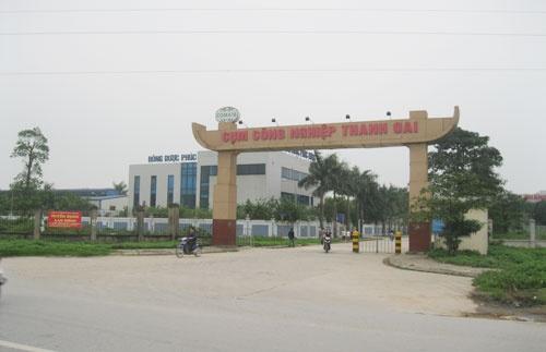 Đo đạc và cắm mốc xác định ranh giới Dự án làm nhà máy in Hà An tại Cụm Công nghiệp Thanh Oai, TP Hà Nội
