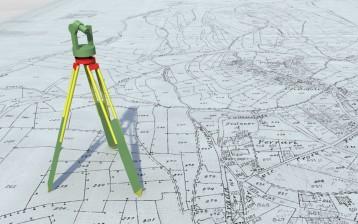 Đo đạc xác định vị trí mốc ranh giới trụ sở làm việc Công ty cổ phần quản lý và xây dựng đường bộ 234